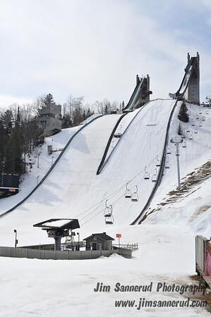 Olympic ski jump center