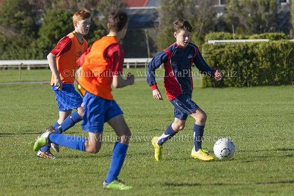 20150509 Football - U15A HIBS v Tawa College _MG_0628 WM