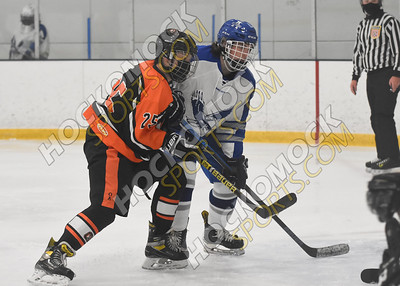 Attleboro vs. Oliver Ames Boys Hockey 1-27-21