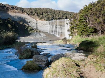Mangatiti Falls BW-100SmugMug.jpg