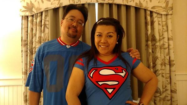 2017-04-22 Superman and Wonder Woman