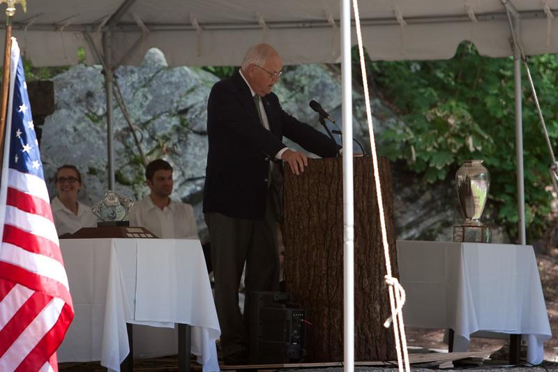 Day 3 - Dartmouth College President Jim Wright addressing his last graduating class