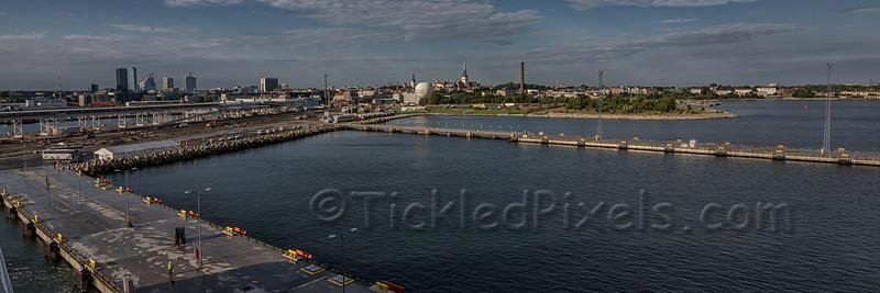 Tallinn from the Port