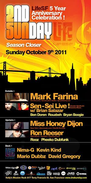 2nd Sunday @ Kelly Mission Rock (Berni) 10.9.11