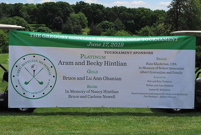 Gregory Hintlian Memorial Golf Tournament, June 17, 2019