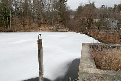 Dam in Fitchburg, Feb. 26, 2020