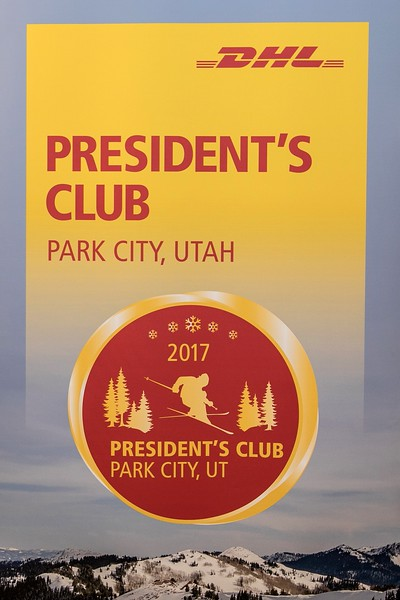 DHL Presidents Club Park City 2018