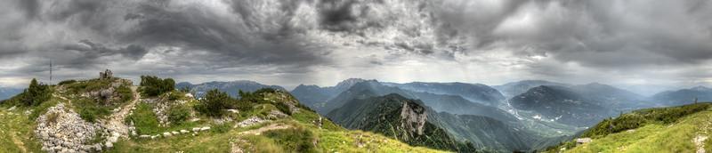 Monte Zugna - Rovereto, Trento, Italy - July 20, 2014