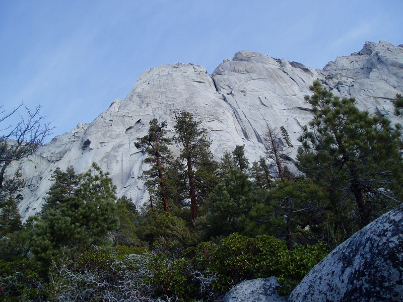 Going into North Fork Lone Pine Creek drainage