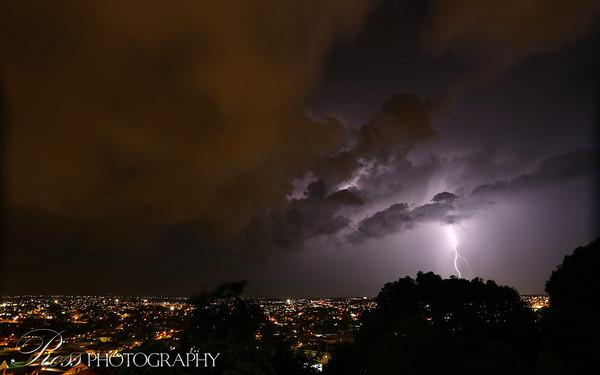 Lightning storm ...