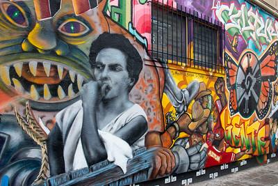 Murals: Mission District; San Francisco
