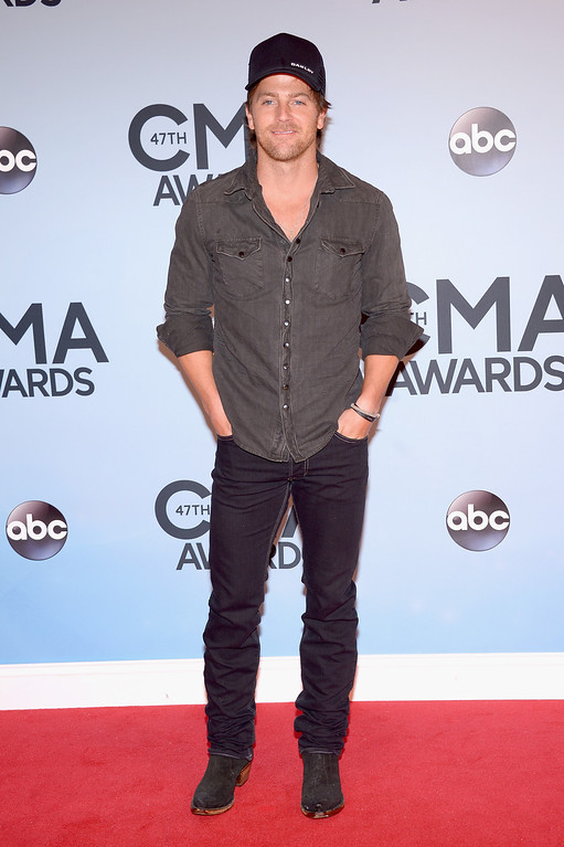 . NASHVILLE, TN - NOVEMBER 06:  Kip Moore attends the 47th annual CMA Awards at the Bridgestone Arena on November 6, 2013 in Nashville, Tennessee.  (Photo by Michael Loccisano/Getty Images)
