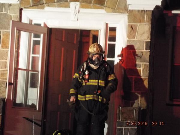 HFD 119 S. Cedar St. basement fire 3-30-15