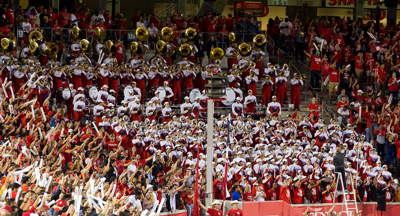 The Band and students want us to get our offense moving again.