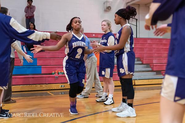 Broughton girls varsity basketball vs Sanderson. February 12, 2019. 750_5829