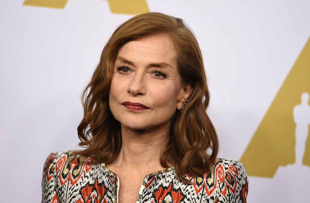 . Isabelle Huppert arrives at the 89th Academy Awards Nominees Luncheon at The Beverly Hilton Hotel on Monday, Feb. 6, 2017, in Beverly Hills, Calif. (Photo by Jordan Strauss/Invision/AP)