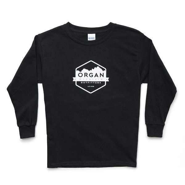 Outdoor Apparel - Organ Mountain Outfitters - Youth Classic Long Sleeve - Black.jpg