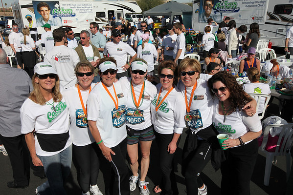 Jan 16. 2011: Team Casey - PF Chang Marathon Sunday