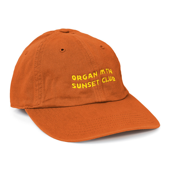 Outdoor Apparel - Organ Mountain Outfitters - Hat - Sunset Club Dad Cap - Orange.jpg