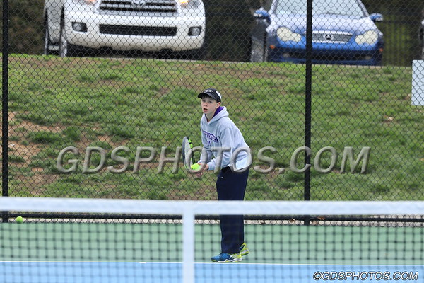 MS BOYS TENNIS 03-22-2018