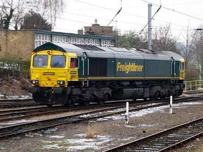 Ipswich Stabling Point    17/01/09