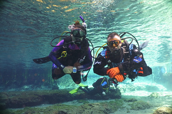 Ginnie Springs with 20,000 Leagues Scuba