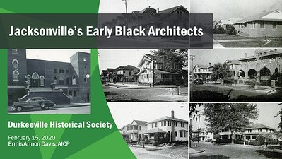 DHS - Early Black Architects Presentation