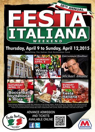 Festa Italiana Sunday 2015