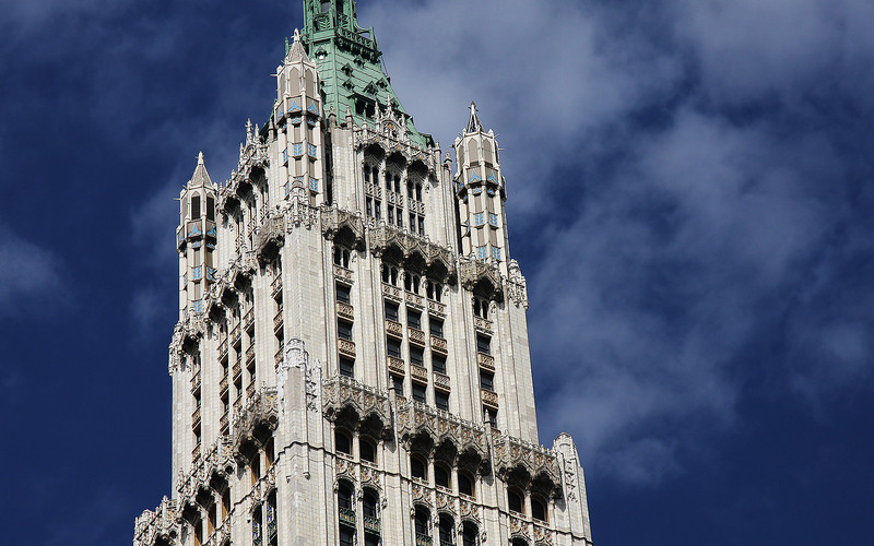 The Woolworth Building, Lower Manhattan, NYC, USA