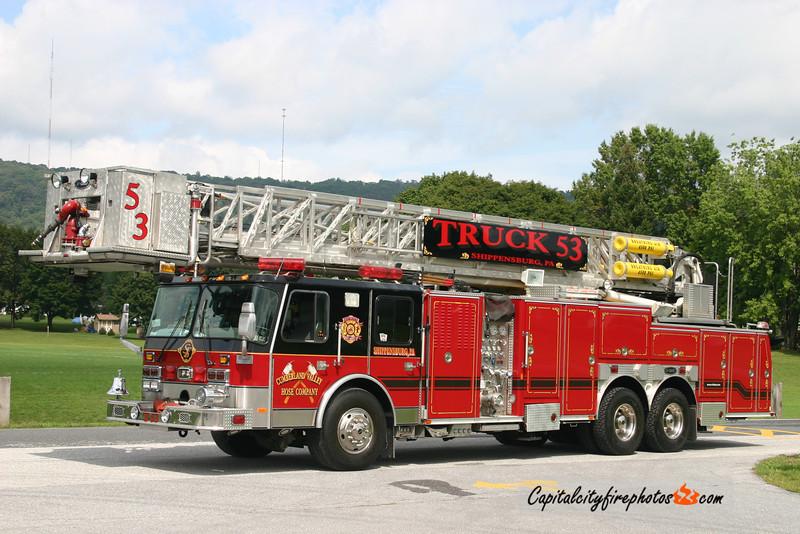 Shippensburg Truck 53: 1998 E-One Hurricane 1500/210 95'
