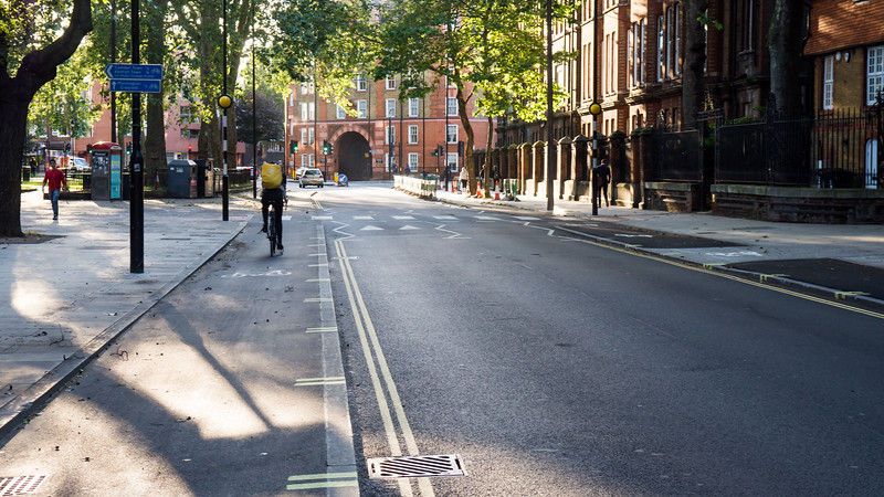 Camden cycle track