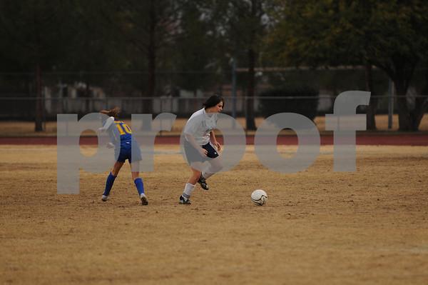 Cactus JV Girls Soccer Game - 12/16/10