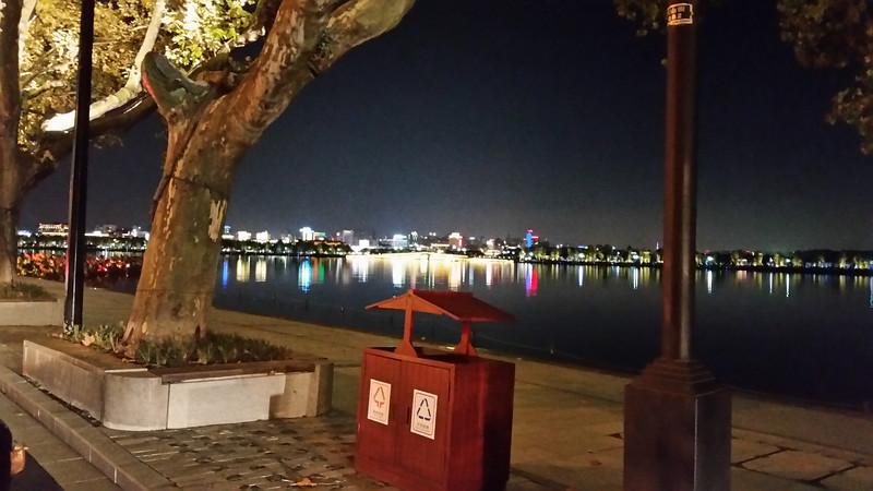 Hangzhou across the lake