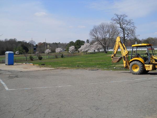 Barracks Construction Begins