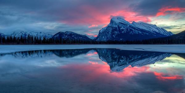 Banff and Lake Louise, Dec 2014
