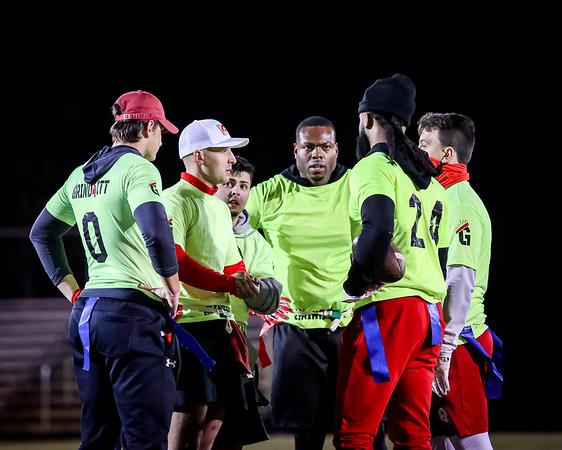 Orlando Sport & Social Club WINTER 2021 MONDAY Men's FLAG FOOTBALL Barnett Park Multipurpose Field