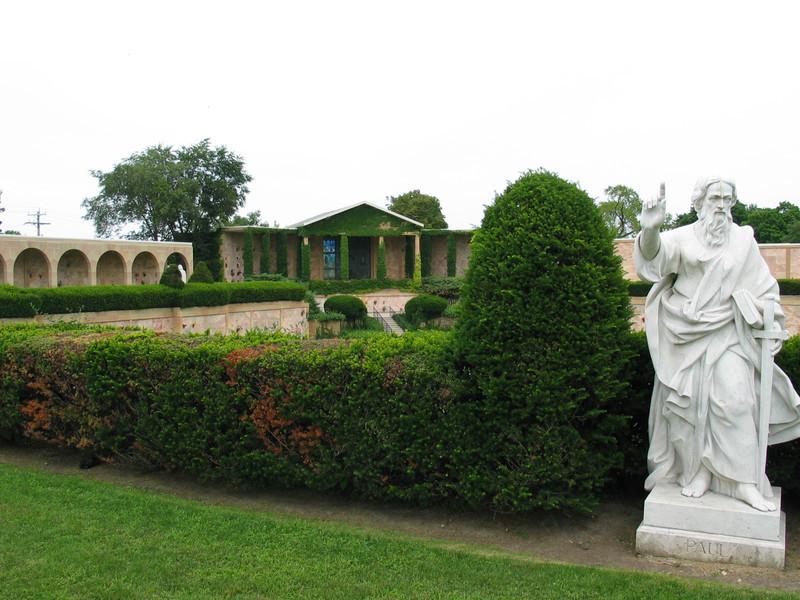 Outdoor mausoleum