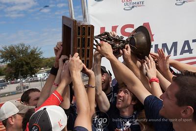 10-20-13 USA Ultimate National Championship Mixed Division - Polar Bears v Drag'n Thrust