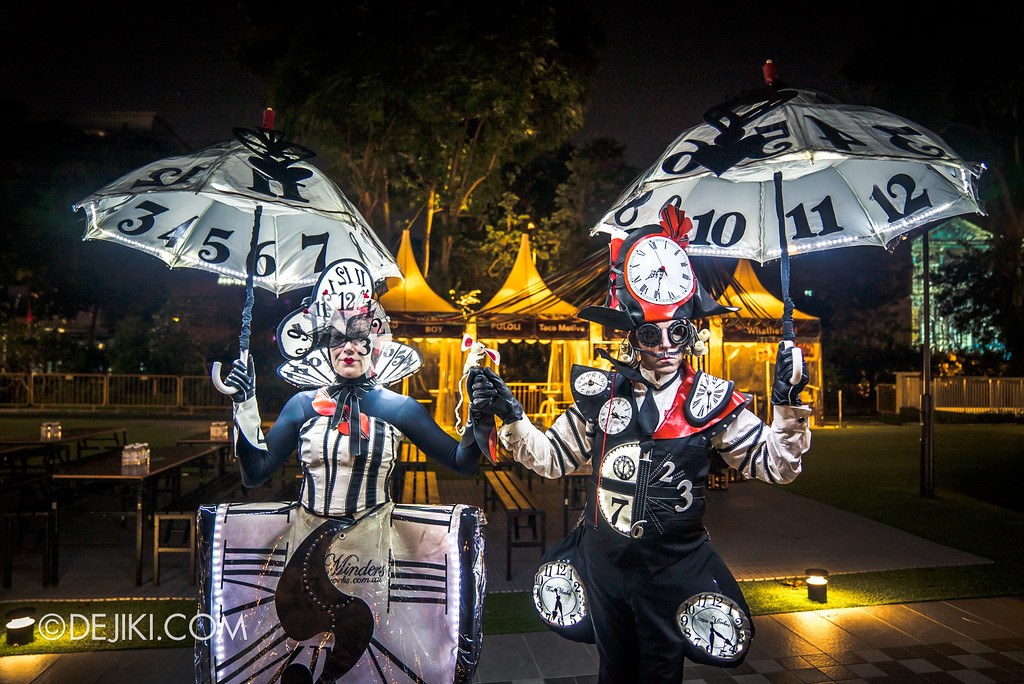 Singapore Night Festival 2017 / The Time Minders by La Galerie Mobile - Wide