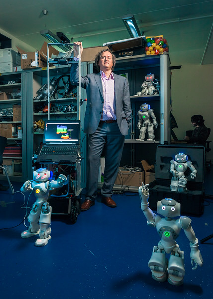 Artificial intelligence researcher Tijn van der Zant