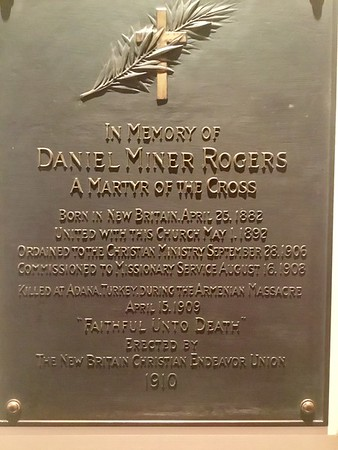 Daniel Mibner Rogers Plaque