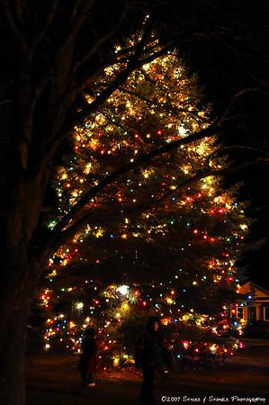2007 Christmas Torchlight Parade, Ellington, CT