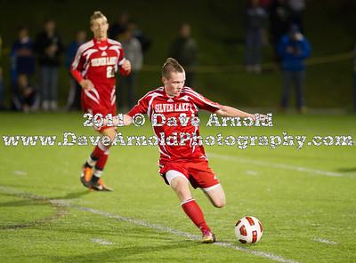 11/9/2011 - Boys Varsity Soccer - Silver Lake vs Needham