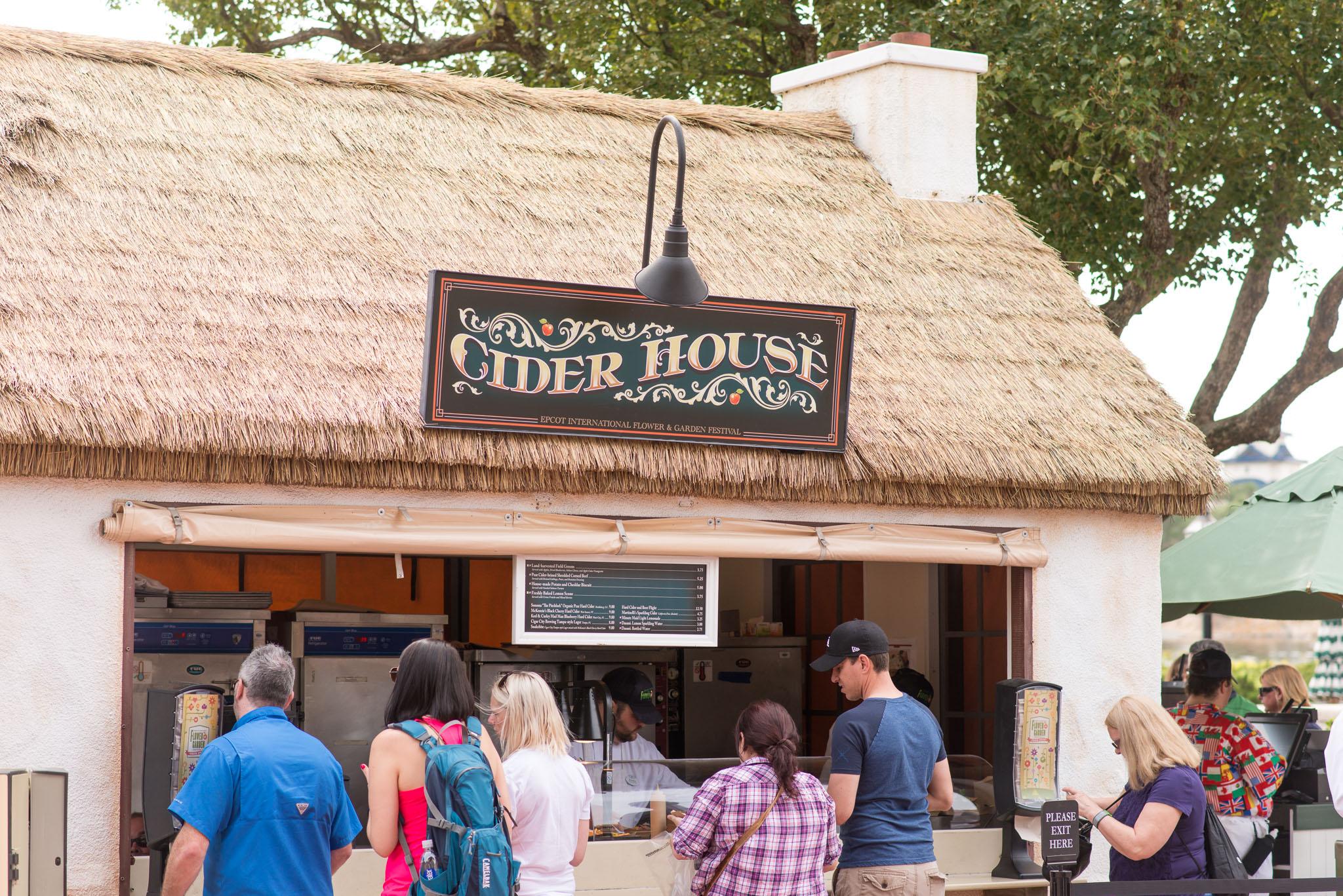 Cider House Food Kiosk - Epcot Flower & Garden Festival 2016