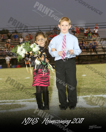 NJHS Homecoming Court 2011