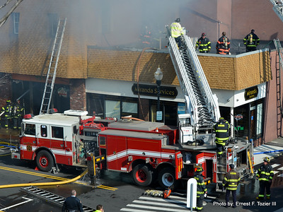 Woburn - 3rd Alarm, March 2016