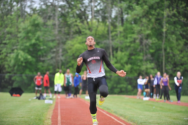 D2 Boys' Long Jump - 2015 MHSAA LP T&F Finals
