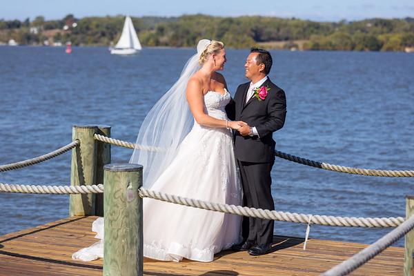 Amy & Duke's Chesapeake City Wedding