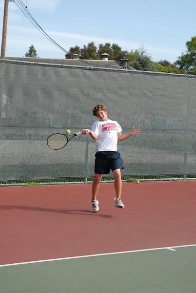 2007 Menlo Boys Tennis - Freshman - Brian