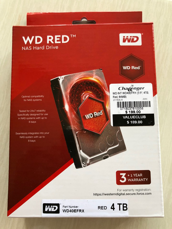 Western Digital Red 4TB Hard Disk